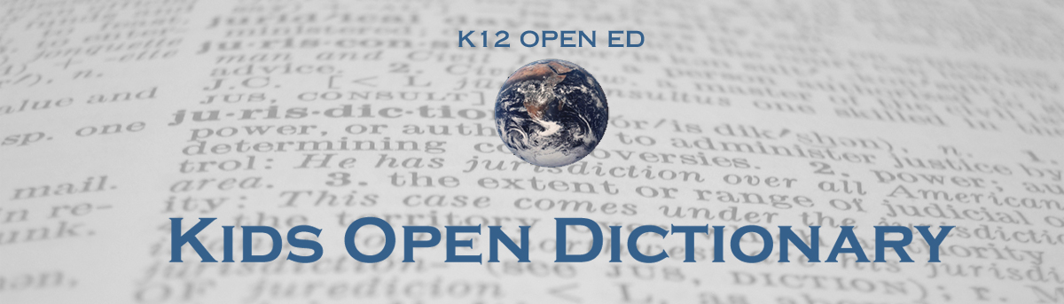 Kids Open Dictionary